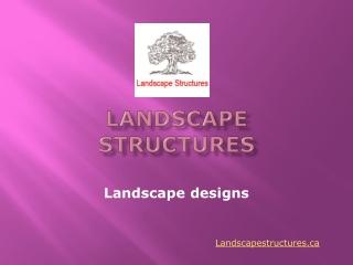 Landscape Designs and Portfolio