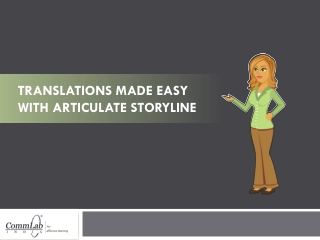 Translations Made Easy with Articulate Storyline