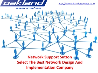 NetworkSupportSutton Select the best network design company