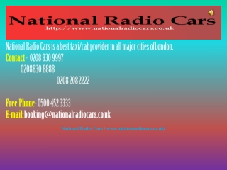 Cheap Taxis And Minicab Services With Reasonable Rates