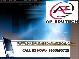 B.Ed from MDU Rohtak, Haryana B.Ed 2014