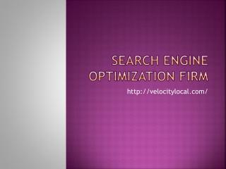 Search Engine Optimization Comapny