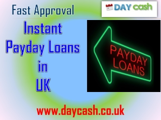 Instant Payday Loans in UK