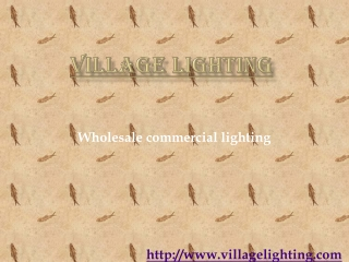 Wholesale commercial lighting