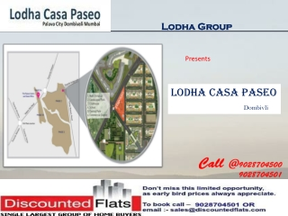 Lodha Casa Paseo Dombivali Mumbai by Lodha Group