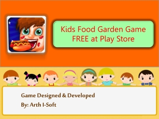 Fids Food Garden Game FREE at Play Store