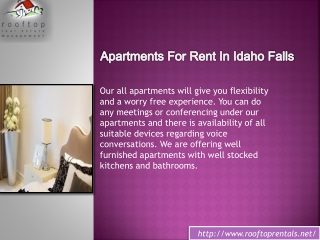Apartments for Rent in Idaho Falls