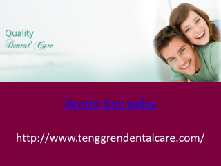 Dentist Simi Valley