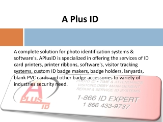 Photo ID Card Systems and Badge Makers