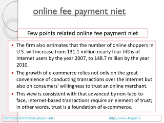 Best portal of online fee payment