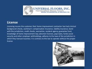 Universal Floors