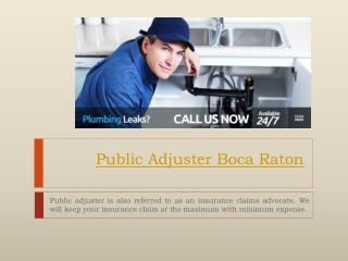 Public Adjuster Orlando