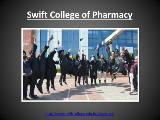 Best College for Pharmacy | Swift College