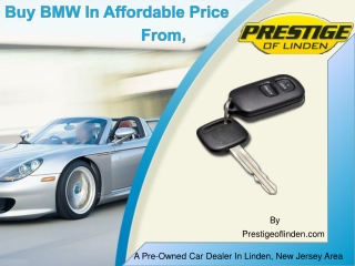 Buy BMW In Affordable Price