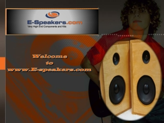 High End Loudspeaker Components