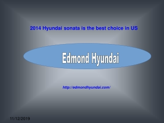 2014 Hyundai sonata is the best choice in US