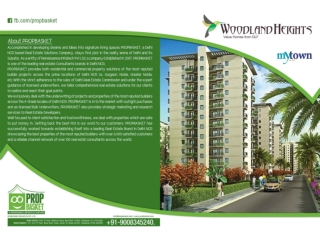 DLF Woodland Apartments Heights in Bangalore