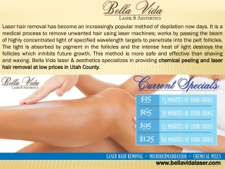 Hair removal treatments Utah