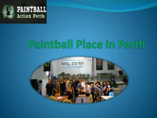 Paintball Place in Perth