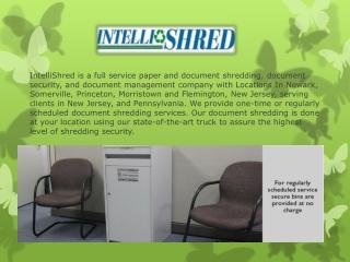 Paper Shredding Services From Intellishred
