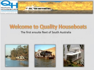 Houseboat Hire Murray River