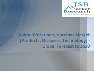 JSB Market Research: Veterinary Vaccines and Animal Vaccines
