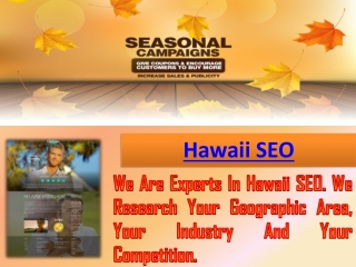 Honolulu SEO
