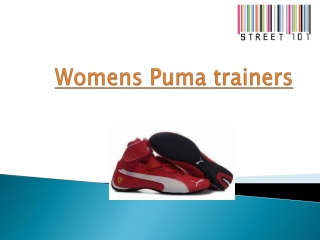 Womens Puma trainers
