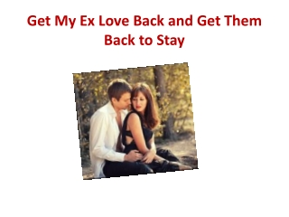 Is It Possible To Get My Ex Love Back?