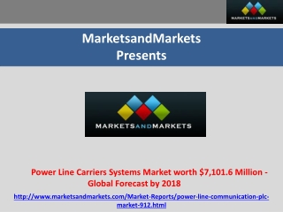 Power Line Carriers Systems Market worth $7,101.6 Million