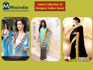 Exclusive Indian Designer Sarees Collection 2014