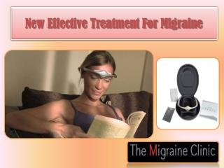 New Effective Treatment For Migraine