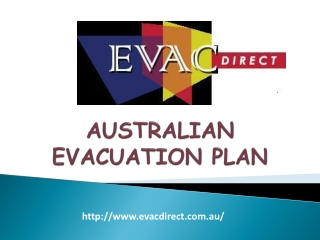 Evacuation Plans