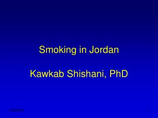 smoking in jordan