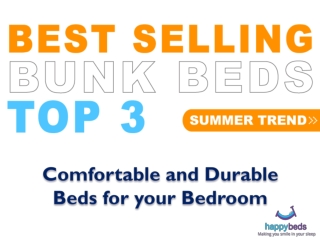 Comfortable and Durable Beds for your Bedroom