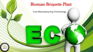 Biomass Briquette Plant – Fuel Manufacturing Technology