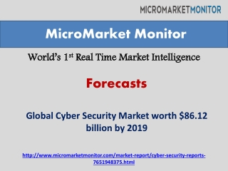 Cyber Security Market by 2019