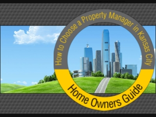 Find Professional RealEstate Property Managers in KansasCity