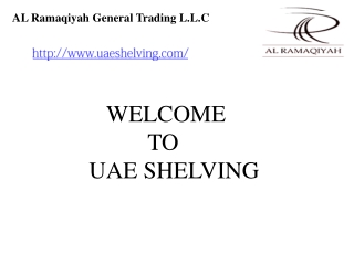 Slotted angle shelving in UAE,Heavy Duty Pallet Racks in UAE