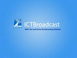 ICTBroadcast Autodialer Software