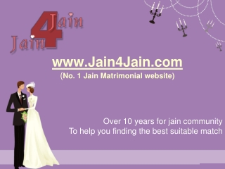 Jain Matrimony - No.1 Jain Matrimonial Website