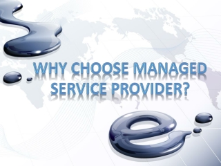 Why Choose managed service provider?