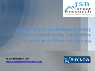 JSB Market Research: Future of the Danish Defense Industry -
