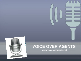 Voice Over Agents