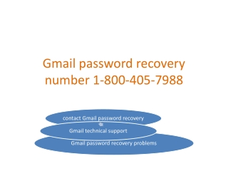 Gmail Account Recovery 1-800-405-7988