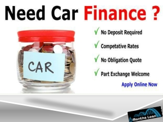 Do you need Car Loans in uk