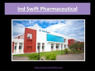 Top Pharma Company in India | Indswift