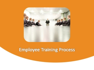 Employee Training Process