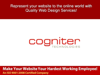 Represent your website to the online world with Quality Web