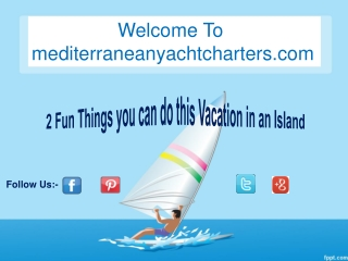 2 Fun Things you can do this Vacation in an Island